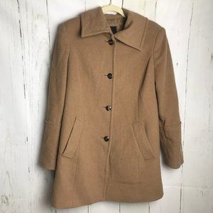 Tan The Limited Pea coat